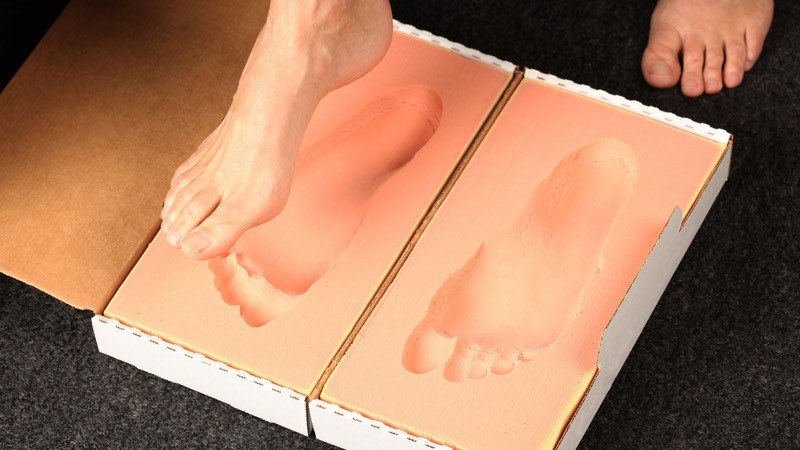 Custom orthotic mold