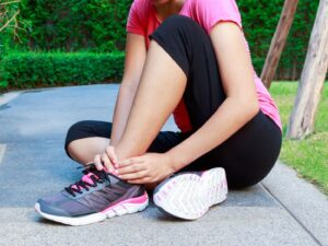 When to start physio after a broken ankle
